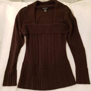 Venus dark brown sweater